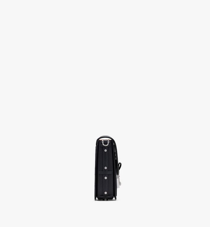 MCM Mini sac à bandoulière Patricia en Visetos Black MWRASPA04BK001 Alternate View 2
