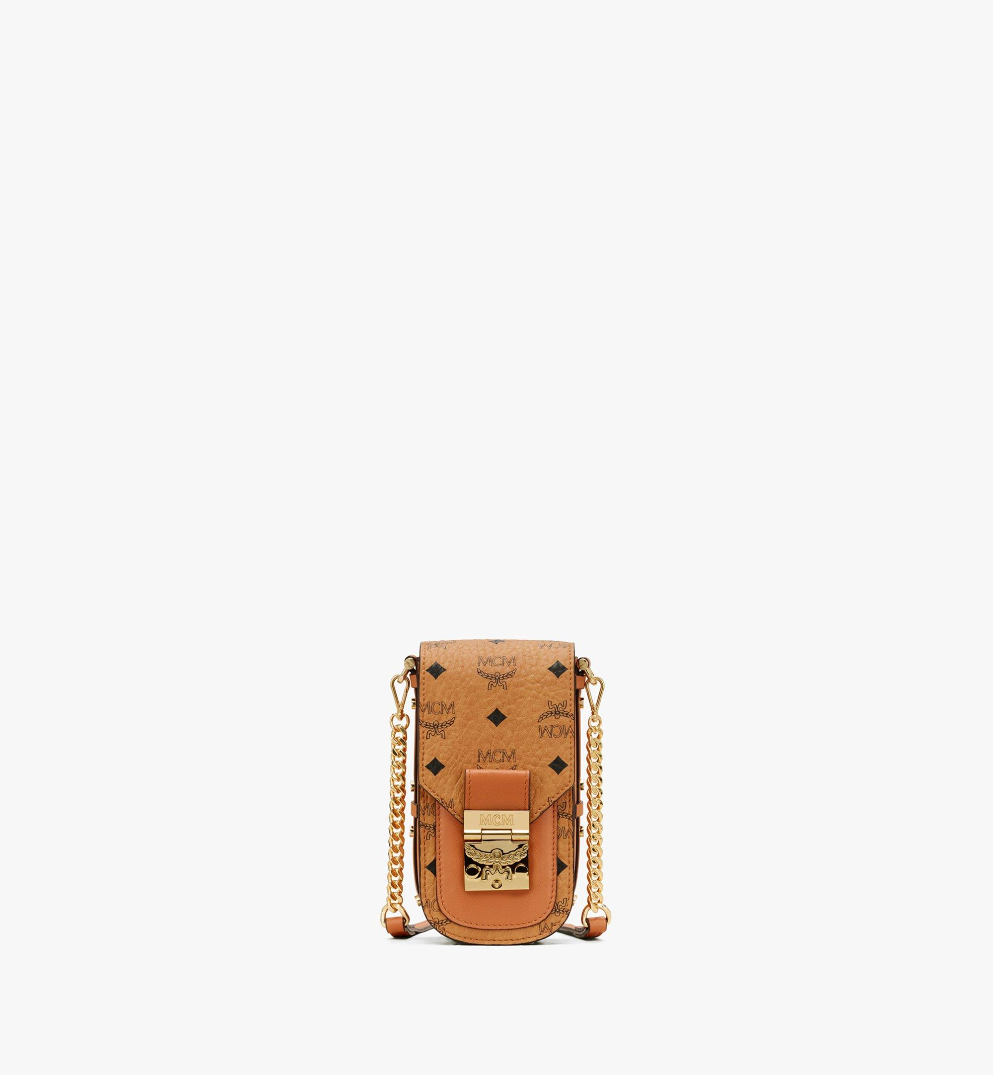 X Mini Patricia Mini Crossbody in Visetos Cognac | MCM® DE