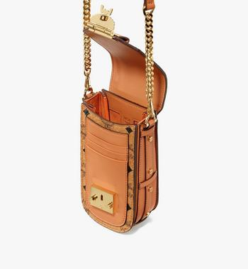 MCM Patricia Mini Crossbody in Visetos Cognac MWRASPA04CO001 Alternate View 4