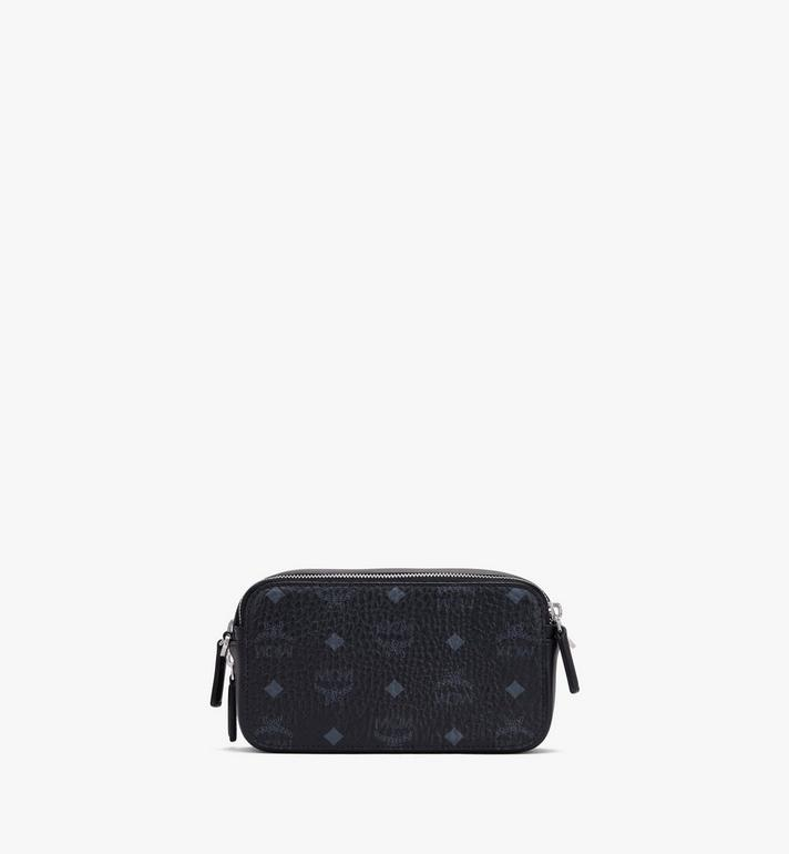 MCM Crossbody-Tasche in Visetos im Querformat Black MWRASVI03BK001 Alternate View 3