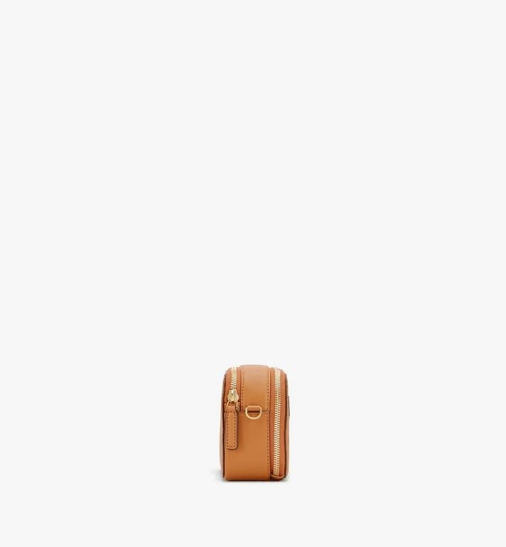 MCM E/W Camera Bag in Visetos Cognac MWRASVI03CO001 Alternate View 2