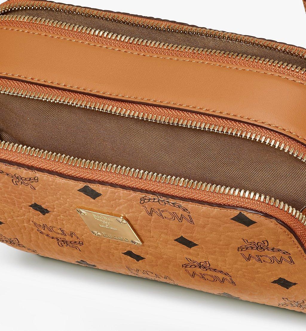 MCM Crossbody-Tasche in Visetos Cognac MWRASVI03CO001 Noch mehr sehen 3