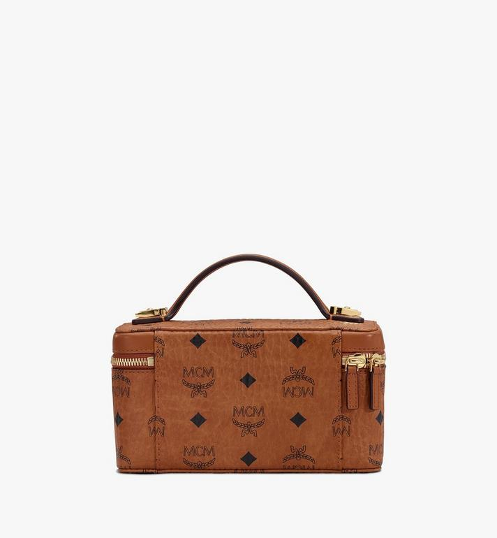 MCM Year Of The Mouse 락스타 배니티 케이스 Cognac MWRASXL02CO001 Alternate View 3