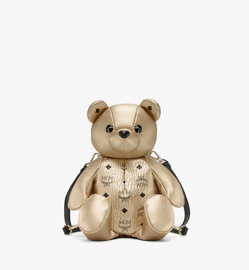 MCM Zoo Bear Backpack in Visetos