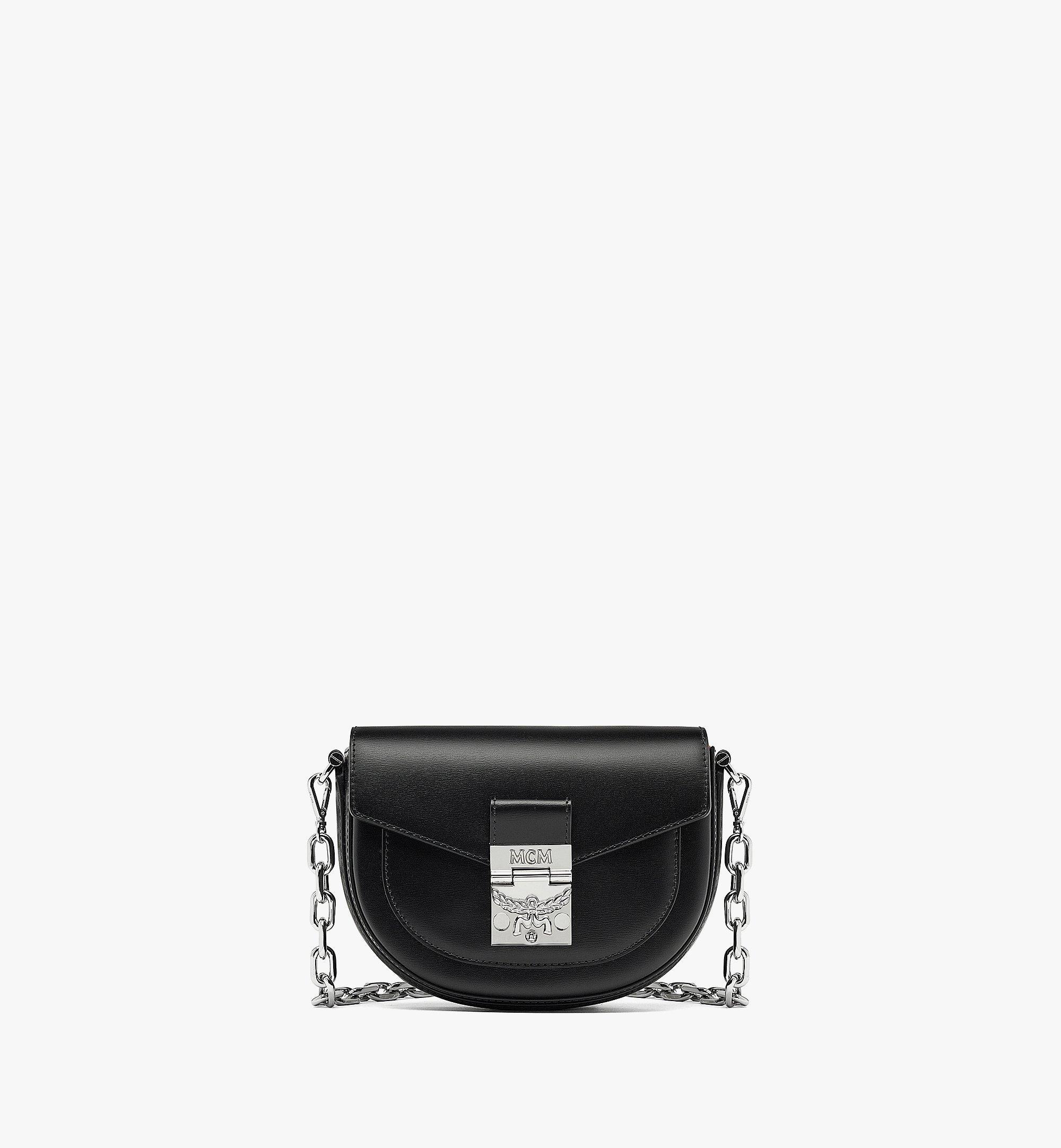 MCM Patricia Crossbody-Tasche aus geprägtem spanischen Leder Black MWRBAPA01BK001 Noch mehr sehen 1