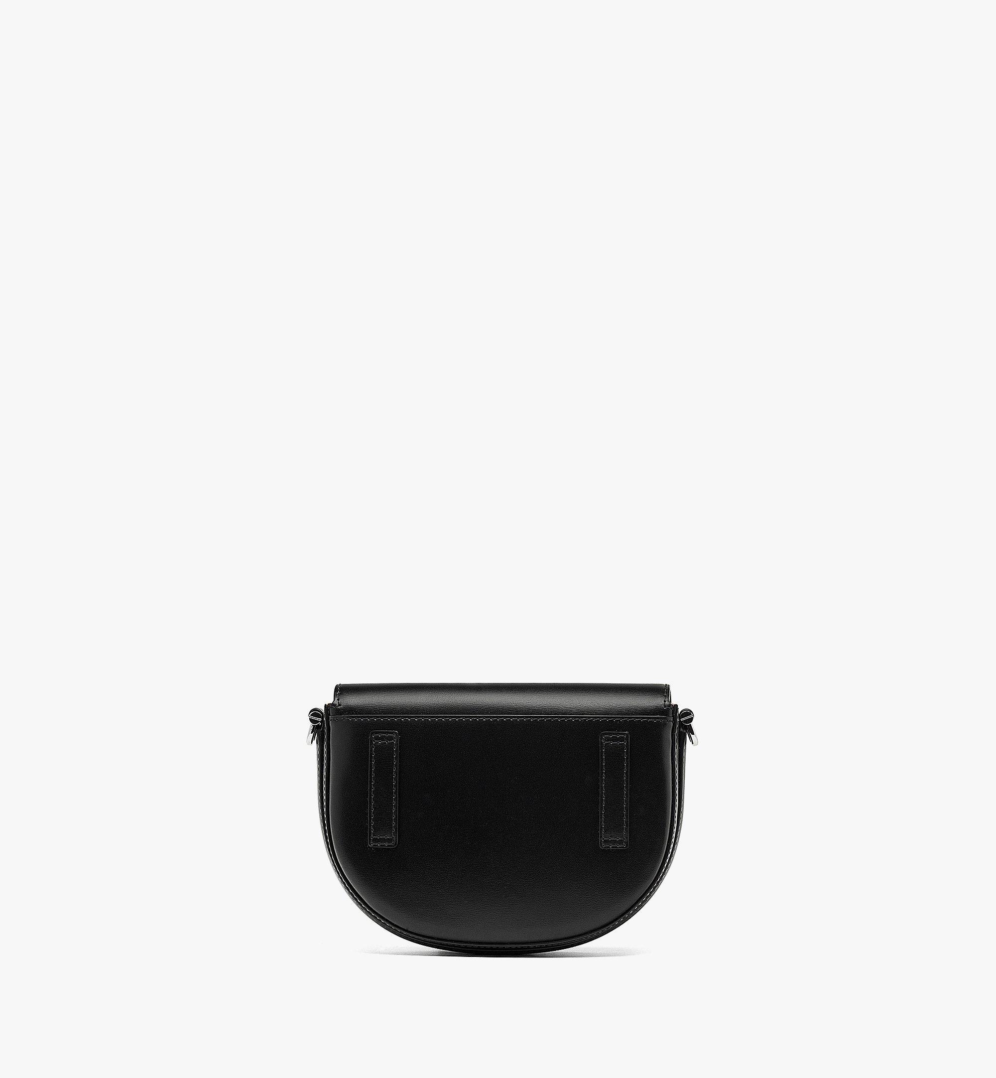 MCM Patricia Crossbody-Tasche aus geprägtem spanischen Leder Black MWRBAPA01BK001 Noch mehr sehen 3