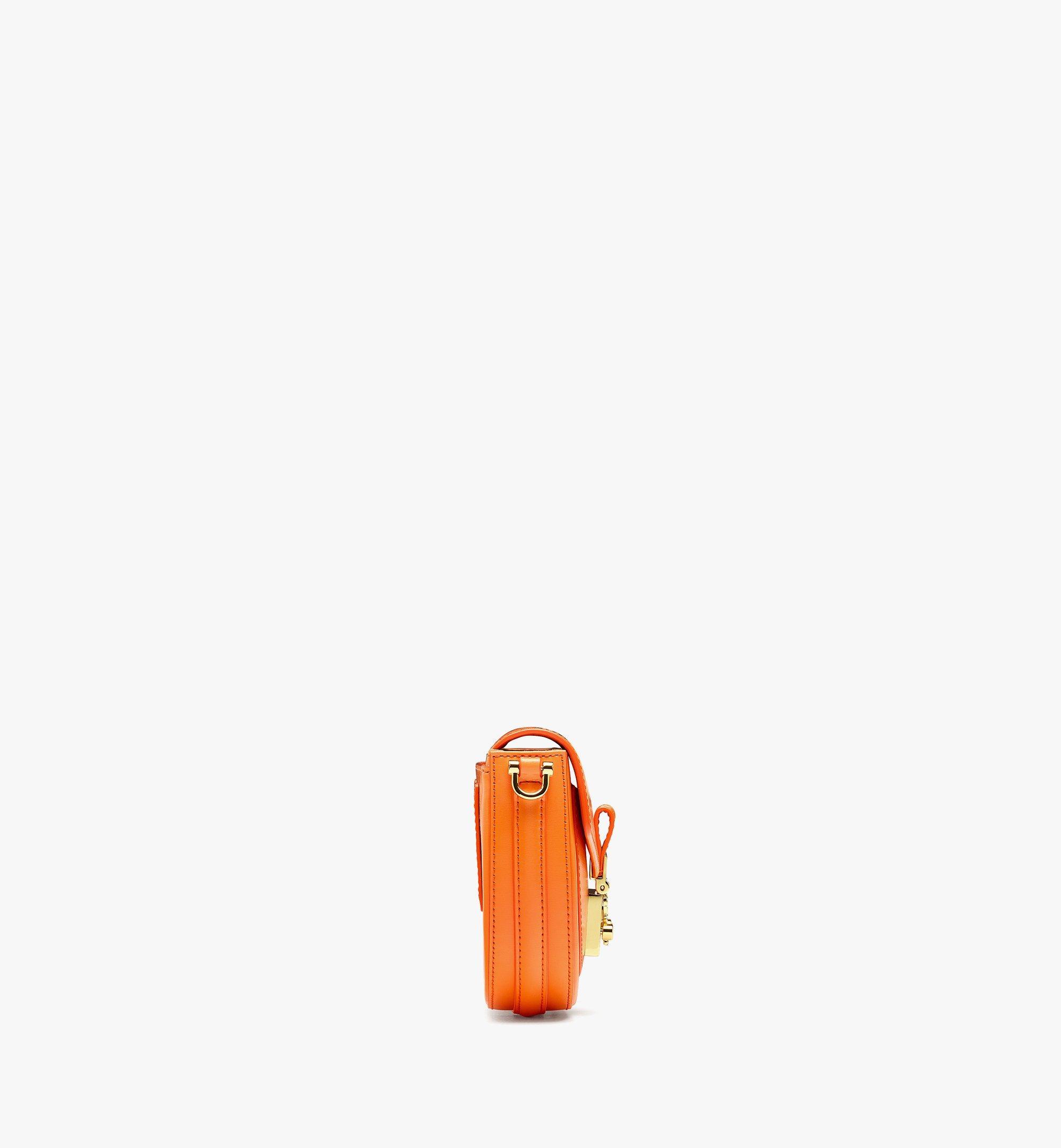 MCM PatriciaCrossbody-Tasche aus geprägtem spanischen Leder Orange MWRBAPA01O9001 Noch mehr sehen 1