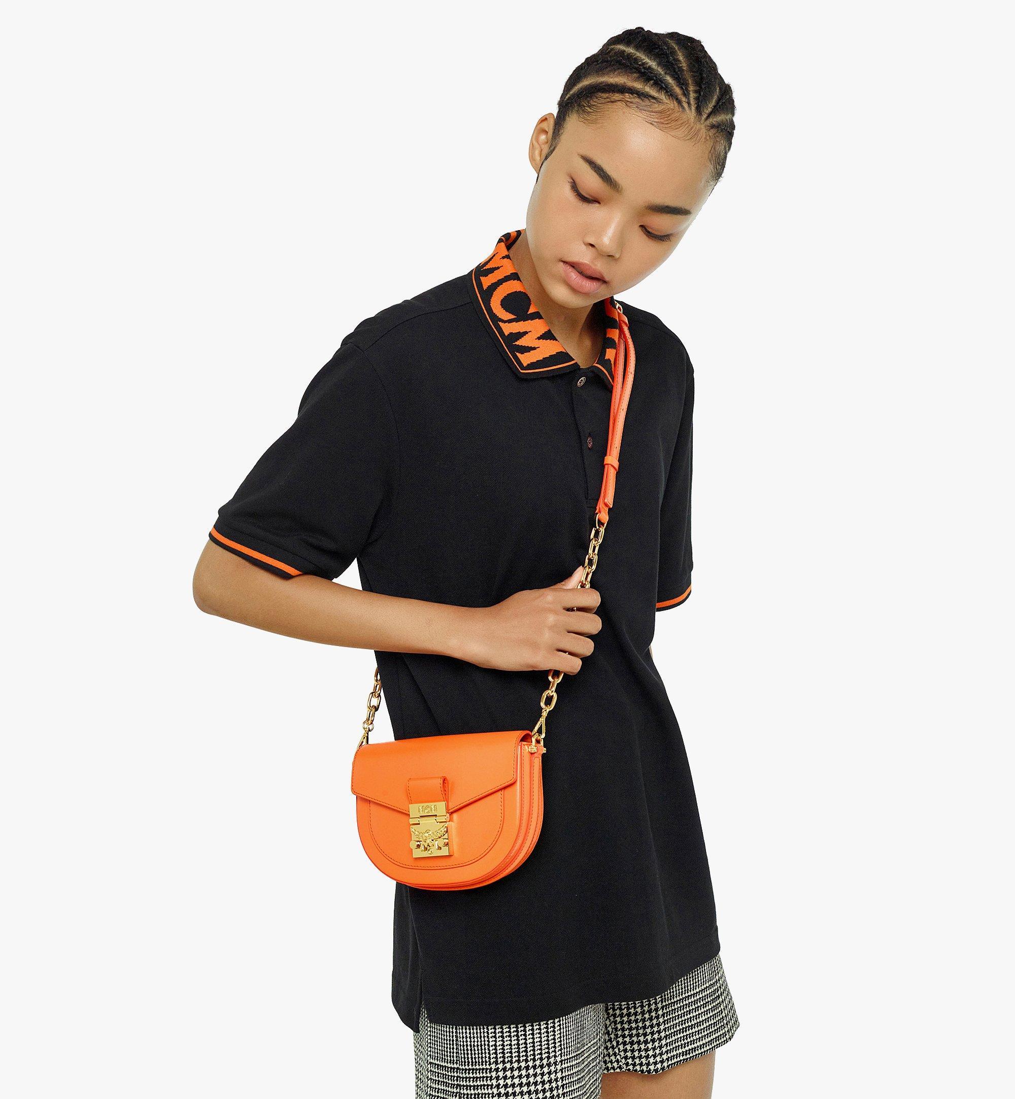 MCM PatriciaCrossbody-Tasche aus geprägtem spanischen Leder Orange MWRBAPA01O9001 Noch mehr sehen 2
