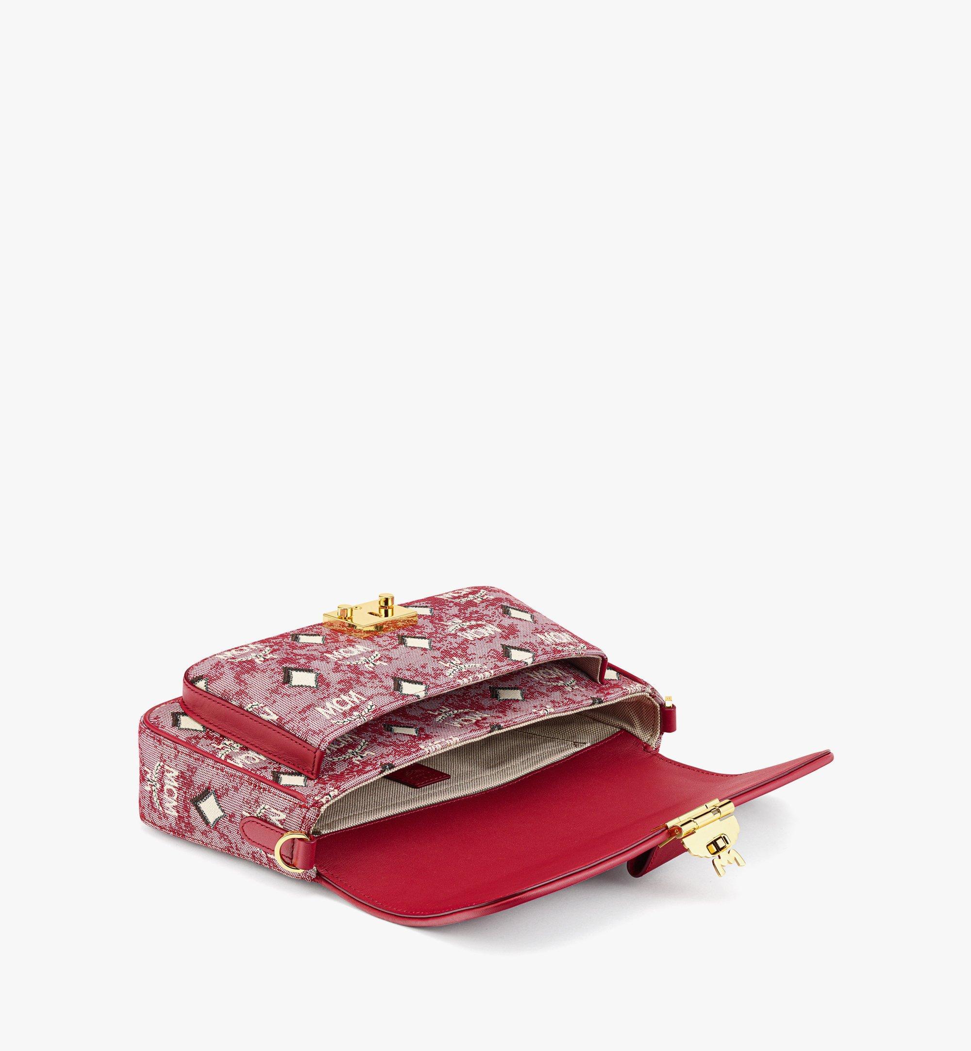 MCM Crossbody Bag in Vintage Jacquard Monogram Red MWRBATQ03RE001 Alternate View 2