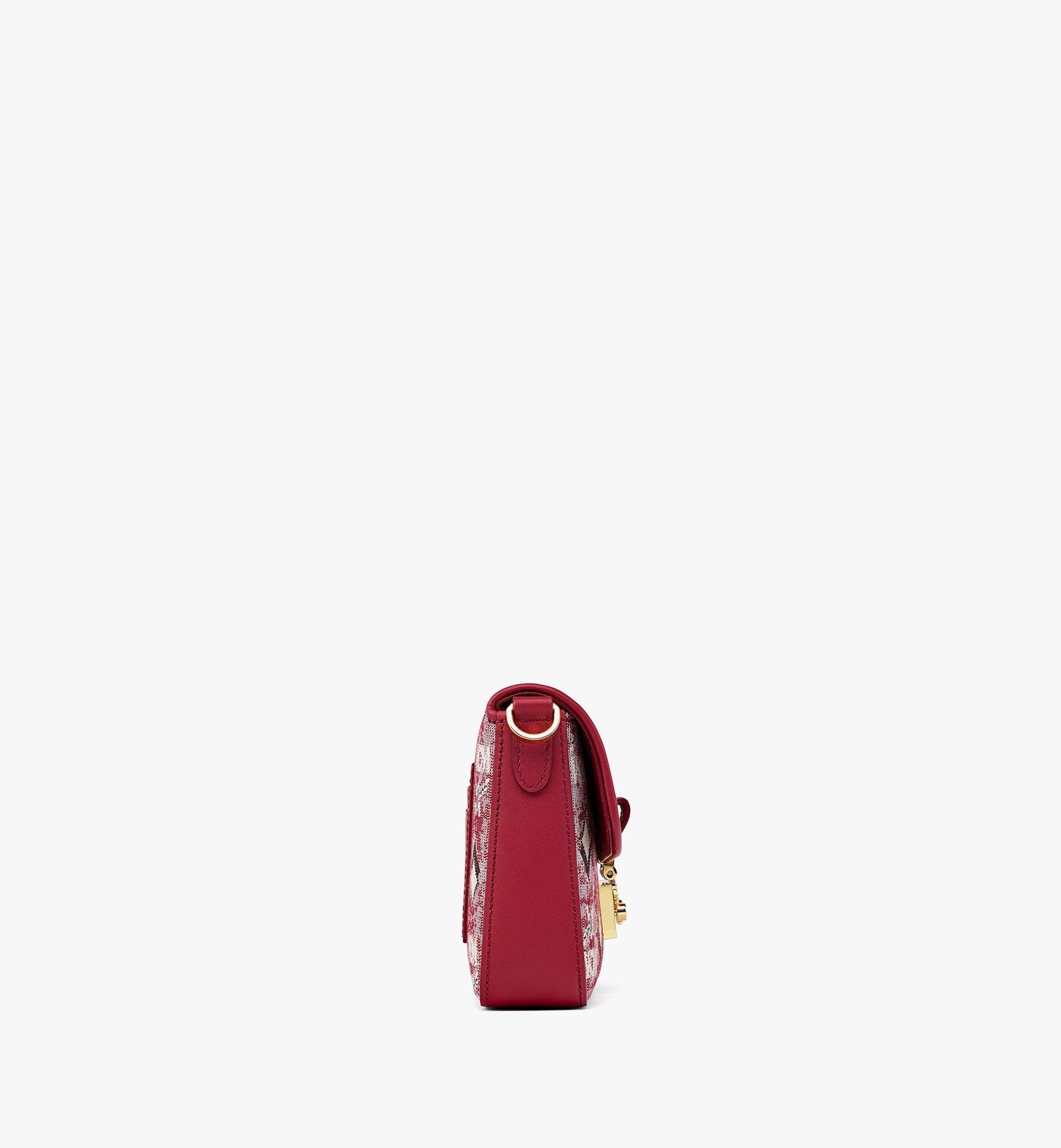 MCM Crossbody Bag in Vintage Jacquard Monogram Red MWRBATQ04RE001 Alternate View 1