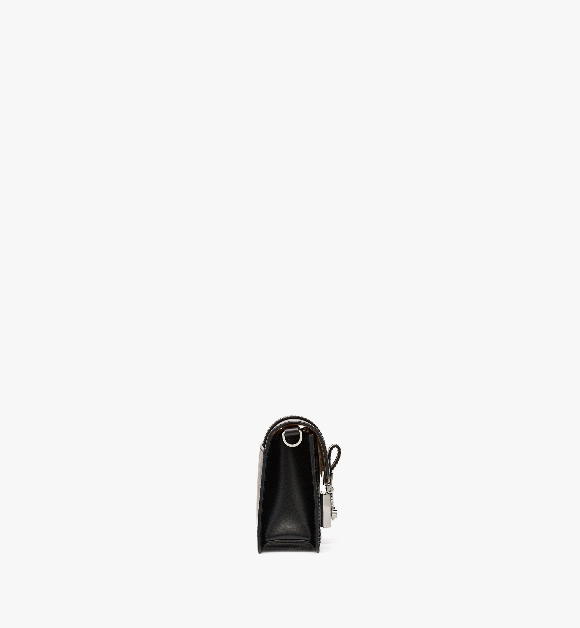 MCM Gretl Crossbody in Spanish Leather Black MWRBAWO03BK001 Alternate View 1