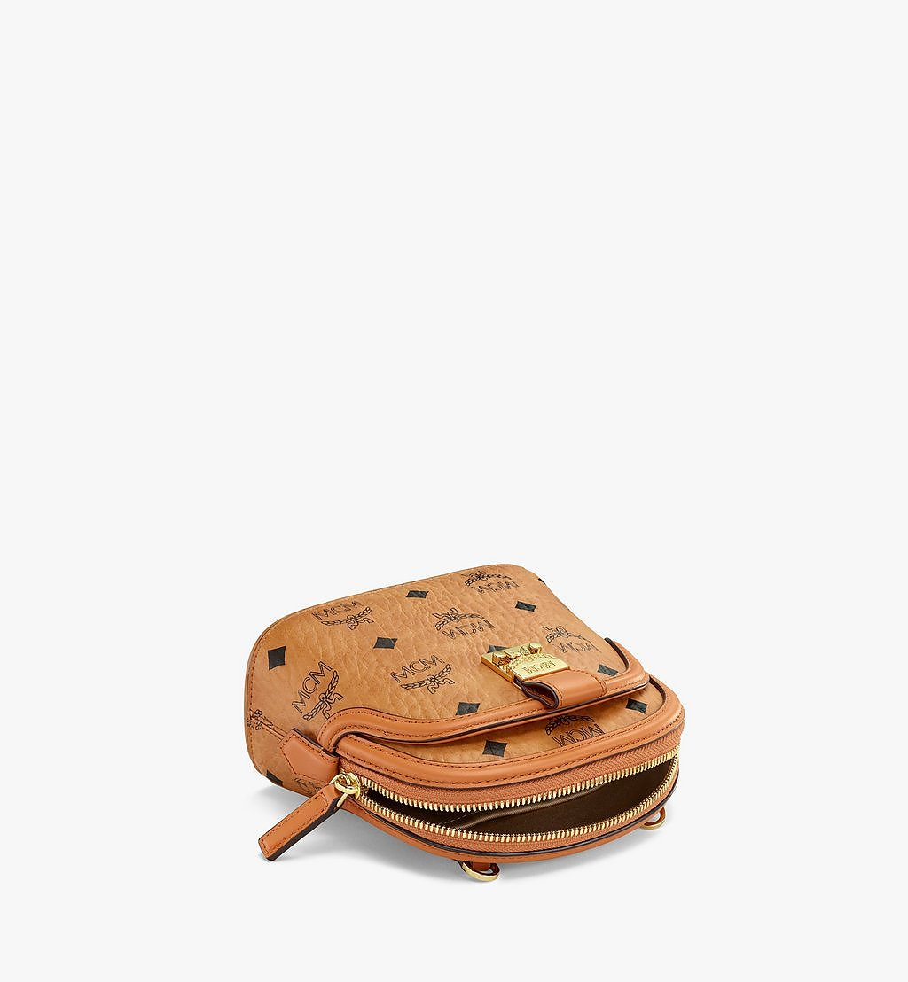 MCM Anna Crossbody-Tasche in Visetos Cognac MWRBSNN01CO001 Noch mehr sehen 2