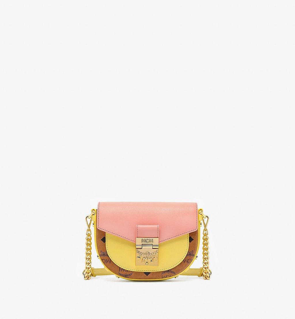 MCM Patricia Crossbody-Tasche mit Lederblock-Visetos Pink MWRBSPA02O8001 Noch mehr sehen 1