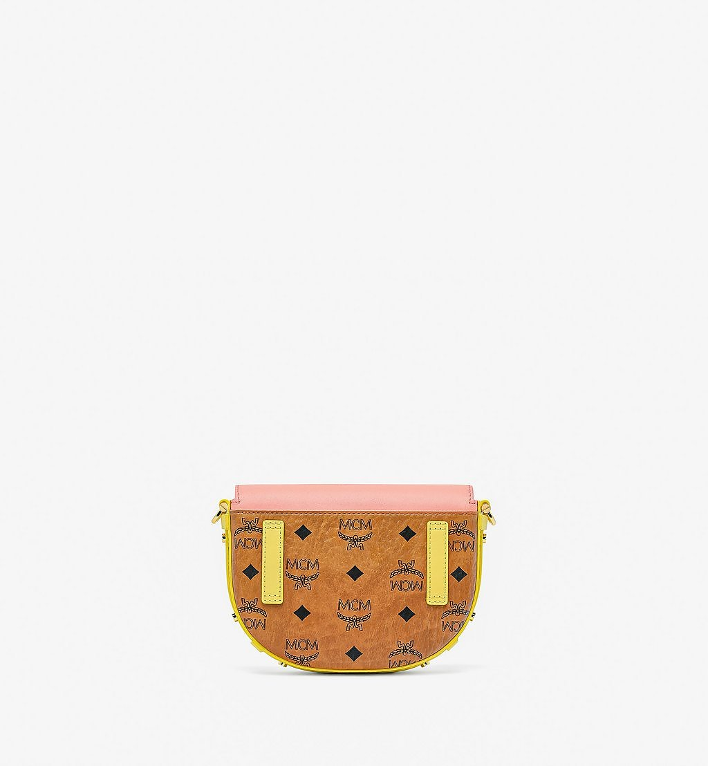 MCM Patricia Crossbody-Tasche mit Lederblock-Visetos Pink MWRBSPA02O8001 Noch mehr sehen 3
