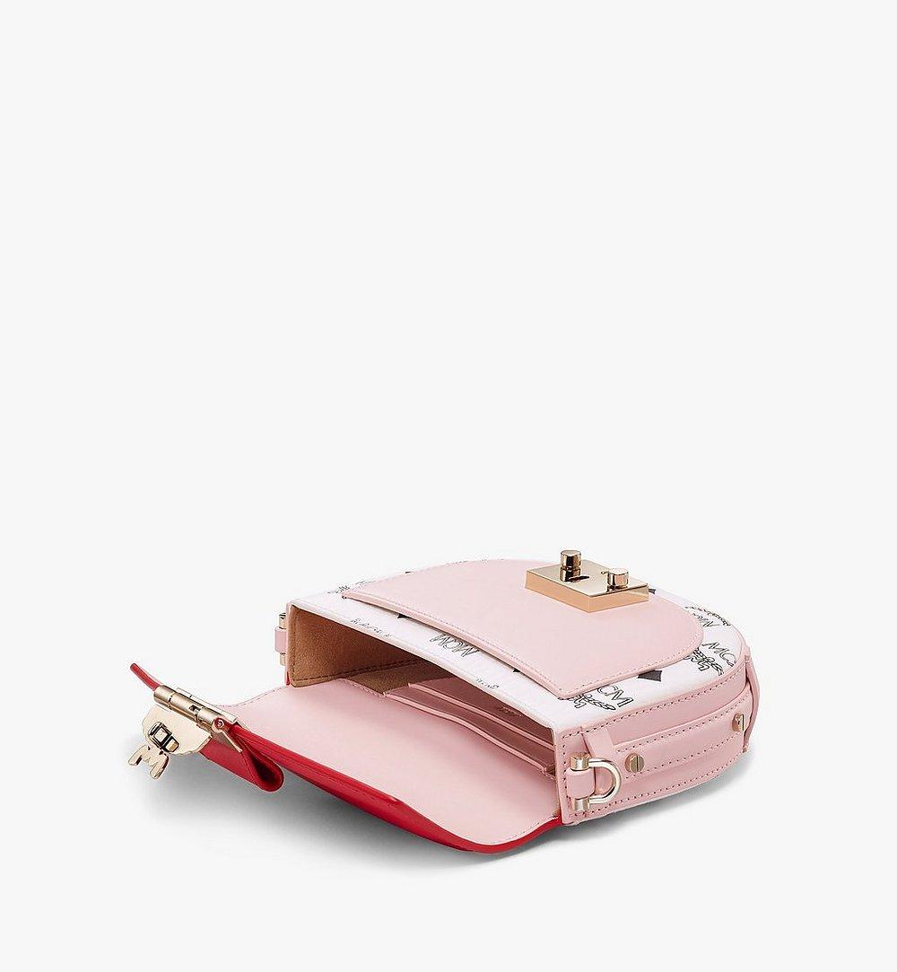 MCM Patricia Crossbody-Tasche in Visetos Leather Block Pink MWRBSPA02R4001 Noch mehr sehen 2