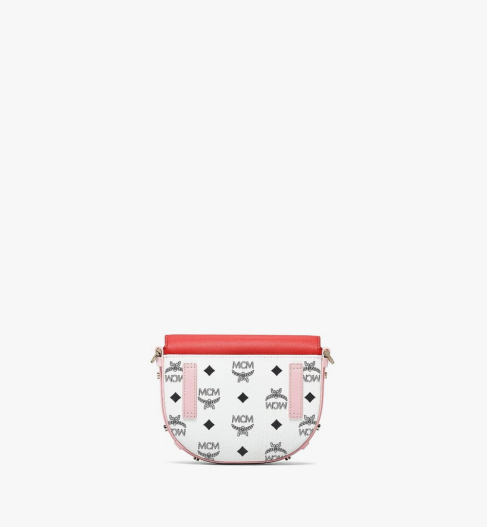 MCM Patricia Crossbody in Visetos Leather Block Pink MWRBSPA02R4001 Alternate View 3