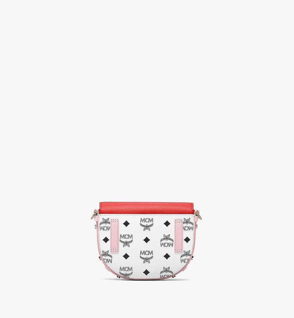 MCM Patricia Crossbody-Tasche mit Lederblock-Visetos Pink MWRBSPA02R4001 Noch mehr sehen 3