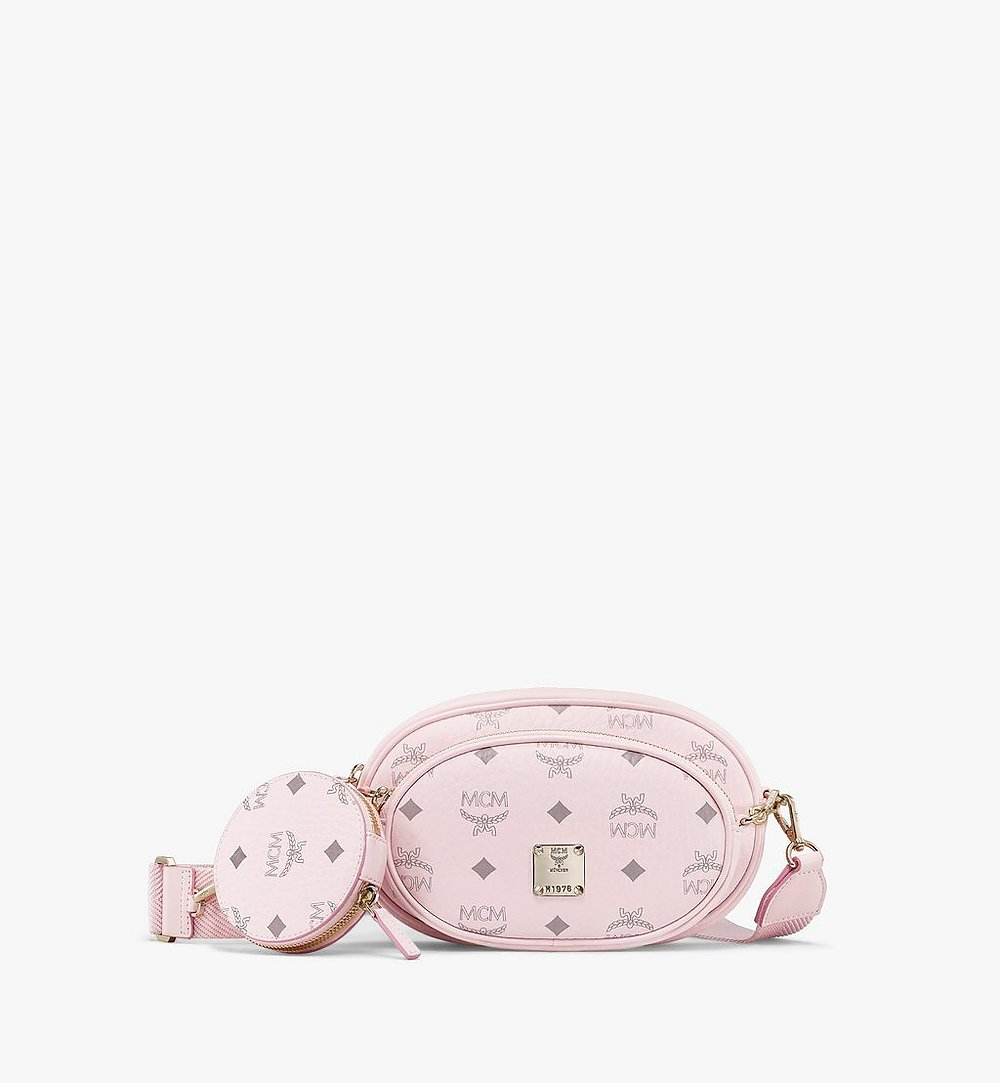 MCM Multifunktionale Essential Crossbody-Pouch in Visetos Original  MWRBSSE01QH001 Noch mehr sehen 1