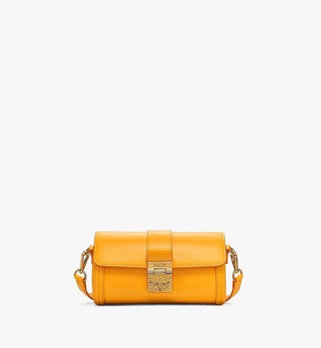MCM Tracy Crossbody-Tasche aus geprägtem spanischen Leder Yellow MWRBSXT02Y2001 Noch mehr sehen 1