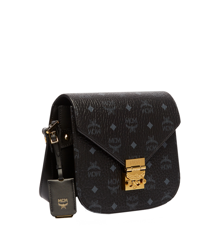 MCM Patricia Shoulder in Visetos MWS6APA03BK001 AlternateView2