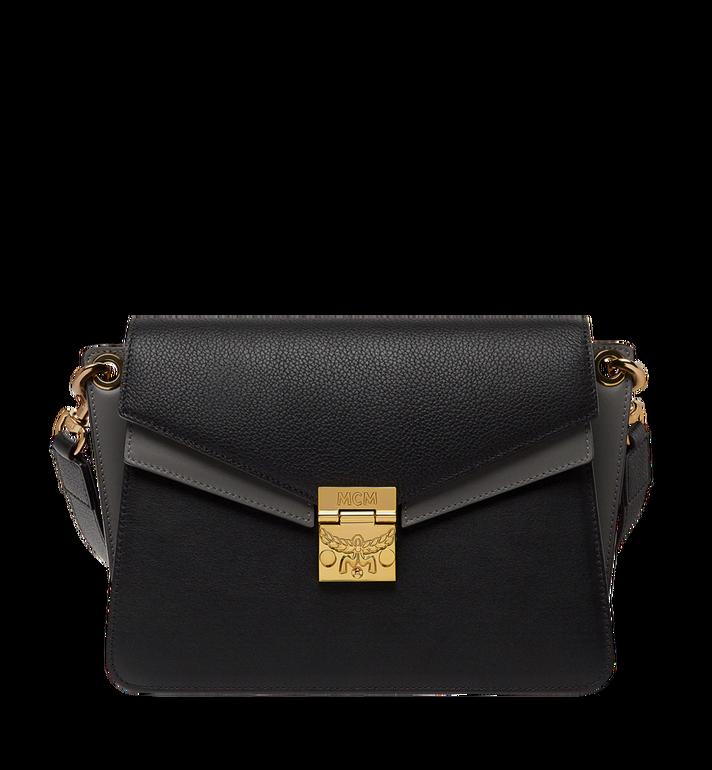 MCM Mezzanin Shoulder Bag in Colorblock Leather MWS8AMZ54BK001 AlternateView