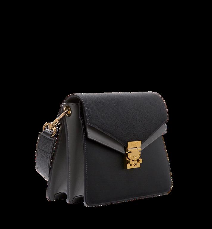 MCM Mezzanin Shoulder Bag in Colorblock Leather MWS8AMZ54BK001 AlternateView2