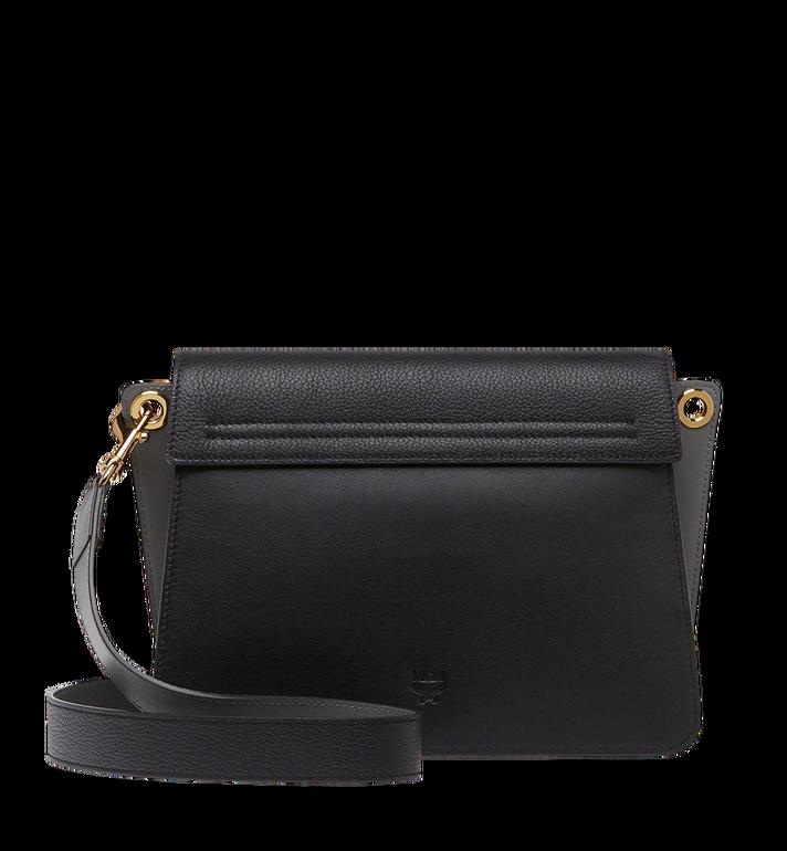 MCM Mezzanin Shoulder Bag in Colorblock Leather MWS8AMZ54BK001 AlternateView4