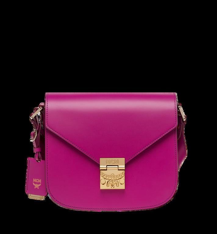 MCM Patricia Shoulder Bag in Vachetta Leather MWS8APA01UK001 AlternateView