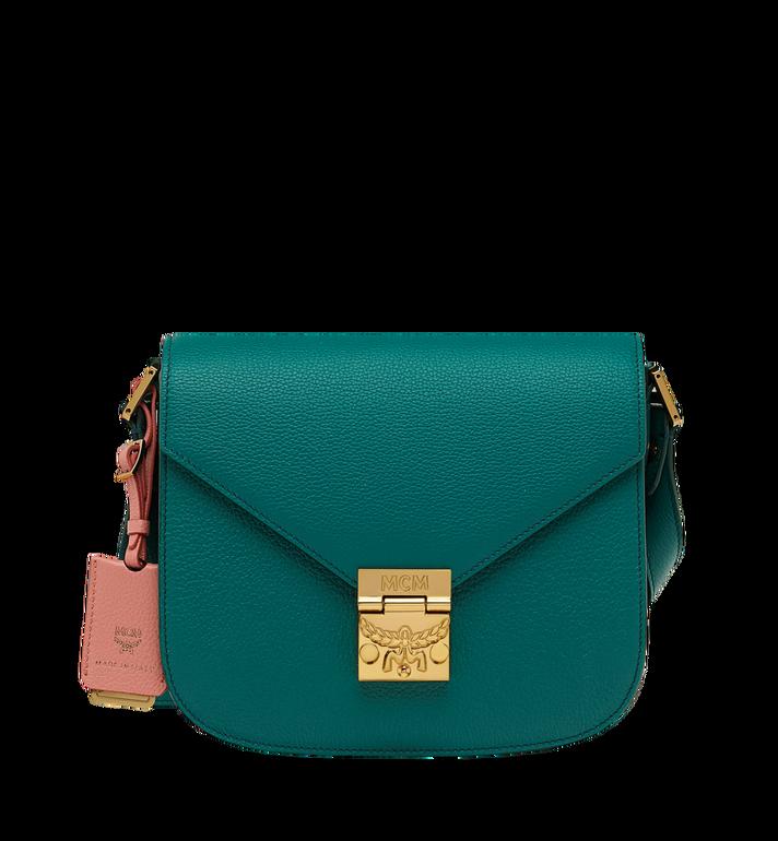 MCM Patricia Shoulder Bag in Grained Leather MWS8APA15KA001 AlternateView