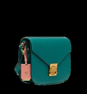 MCM Patricia Shoulder Bag in Grained Leather MWS8APA15KA001 AlternateView2