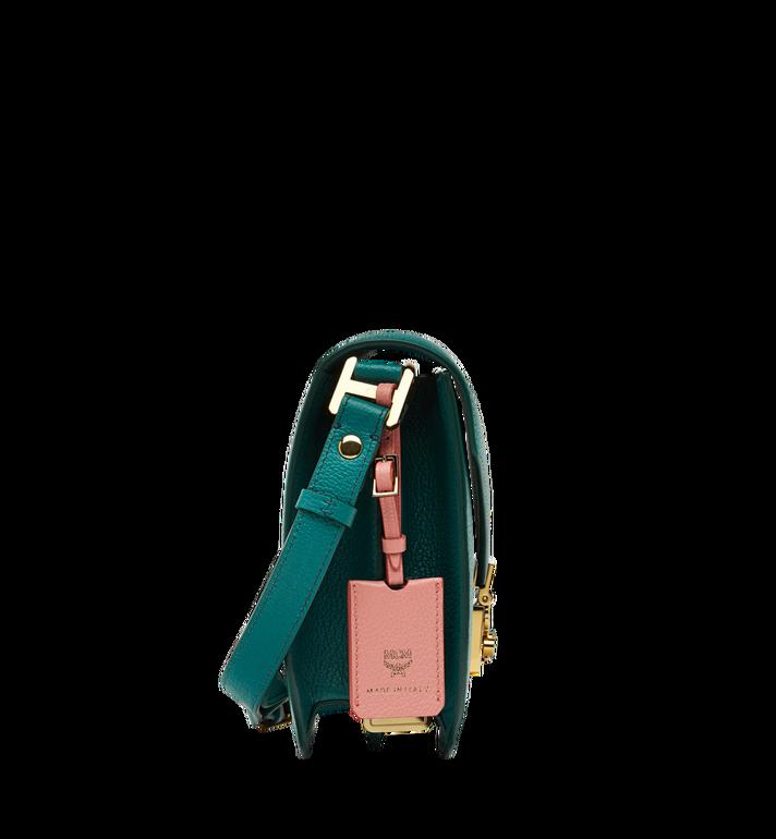 MCM Patricia Shoulder Bag in Grained Leather MWS8APA15KA001 AlternateView3