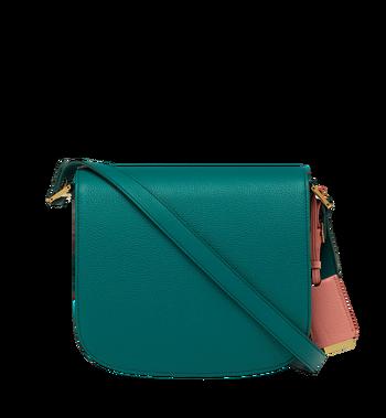 MCM Patricia Shoulder Bag in Grained Leather MWS8APA15KA001 AlternateView4