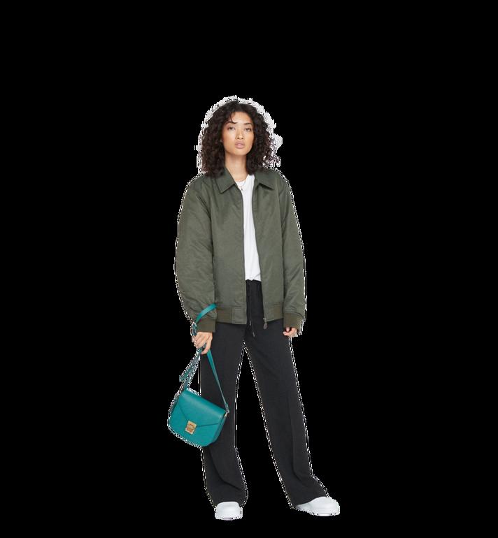 MCM Patricia Shoulder Bag in Grained Leather MWS8APA15KA001 AlternateView6