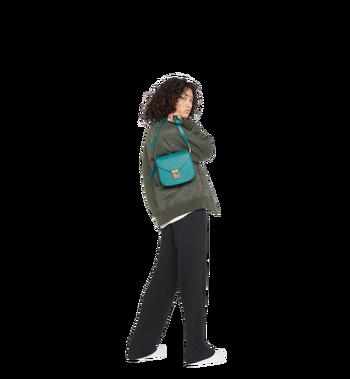 MCM Patricia Shoulder Bag in Grained Leather MWS8APA15KA001 AlternateView7