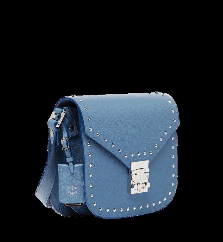 MCM Patricia Shoulder Bag in Studded Outline Leather MWS8APA17HF001 AlternateView2