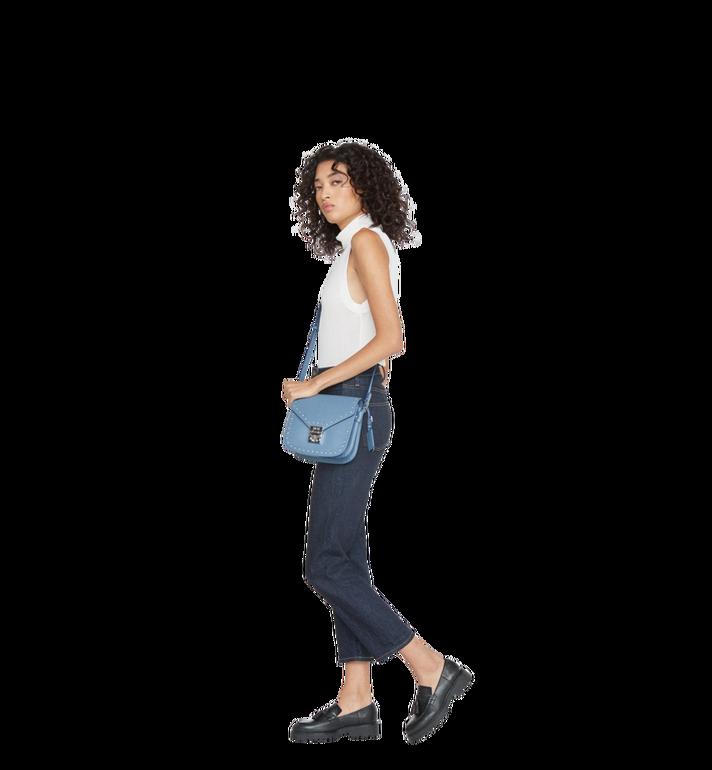 MCM Patricia Shoulder Bag in Studded Outline Leather MWS8APA17HF001 AlternateView6