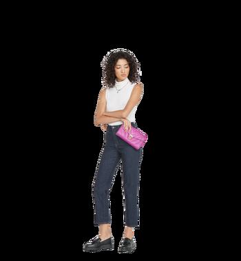 MCM Patricia Shoulder Bag in Studded Outline Leather MWS8APA17HF001 AlternateView7