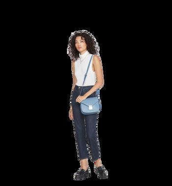 MCM Patricia Shoulder Bag in Studded Outline Leather MWS8APA17HF001 AlternateView8