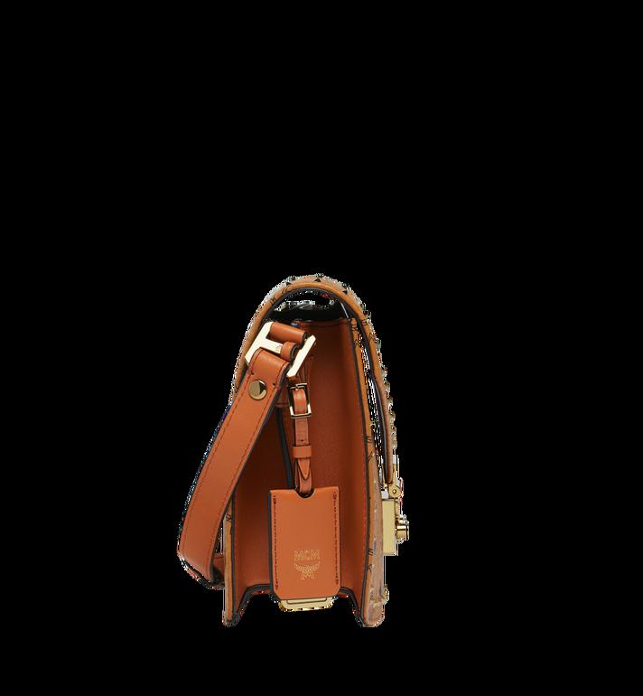 MCM Patricia Shoulder Bag in Studded Outline Visetos Alternate View 3