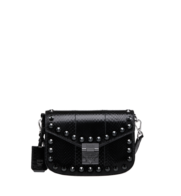 MCM Patricia Shoulder Bag in Exotic Crystal Leather Alternate View