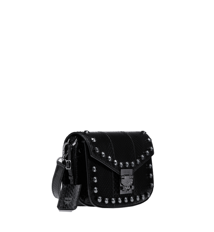 MCM Patricia Shoulder Bag in Exotic Crystal Leather Alternate View 2