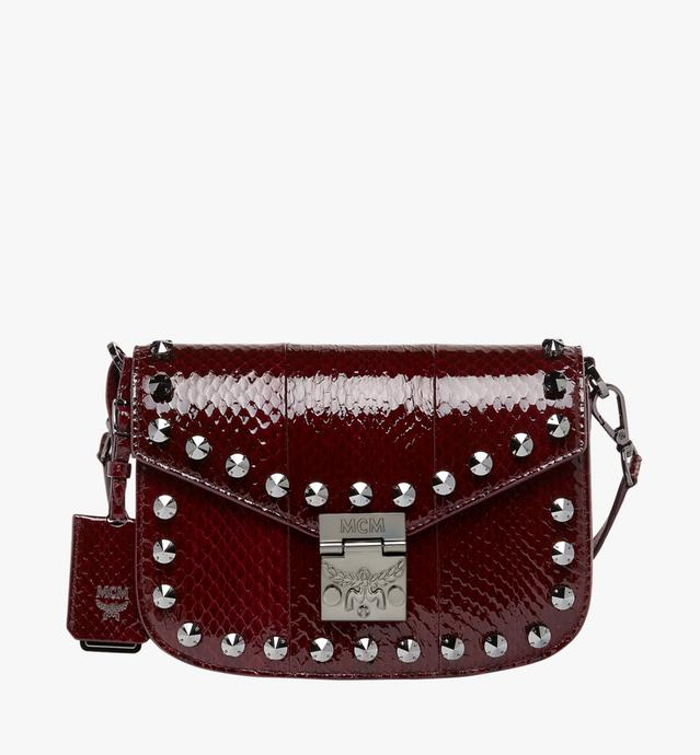 PATRICIA SCHULTERTASCHE AUS EXOTIC CRYSTAL LEDER