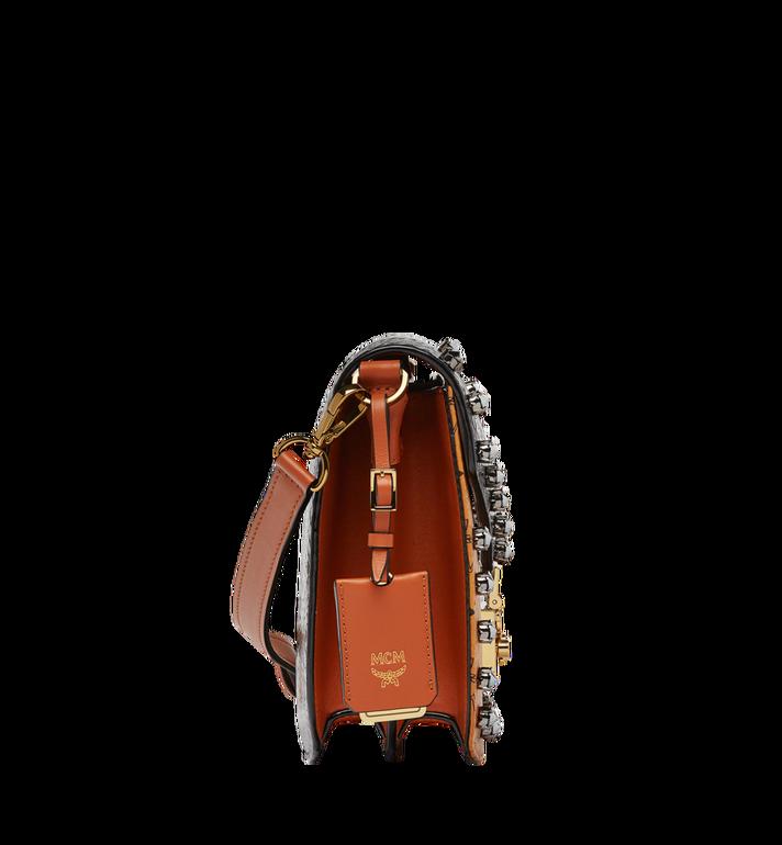 MCM Patricia Shoulder Bag in Exotic Crystal Visetos MWS8APA31BK001 AlternateView3