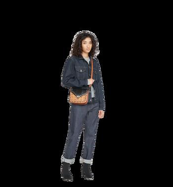 MCM Patricia Shoulder Bag in Exotic Crystal Visetos MWS8APA31BK001 AlternateView7