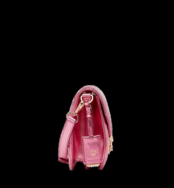 MCM Patricia Shoulder Bag in Quilted Metallic Leather MWS8APA71UK001 AlternateView3