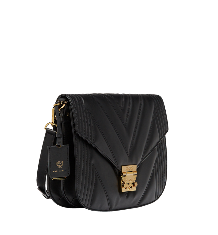 MCM Patricia Shoulder Bag in Quilted Leather Alternate View 2