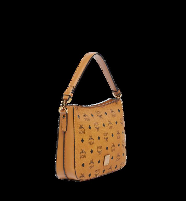 MCM Essential Shoulder Bag in Visetos Original MWS8ASE72CO001 AlternateView2