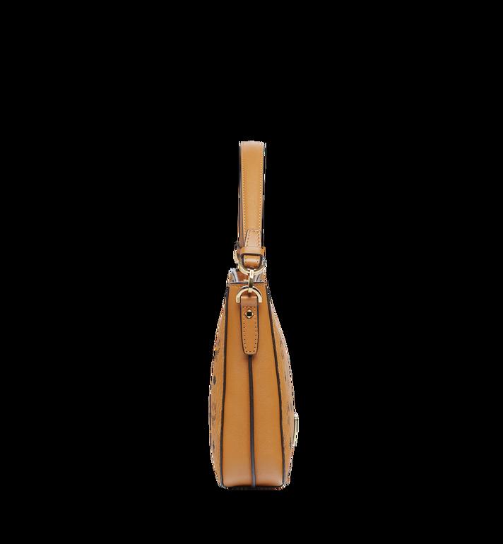MCM Essential Shoulder Bag in Visetos Original MWS8ASE72CO001 AlternateView3