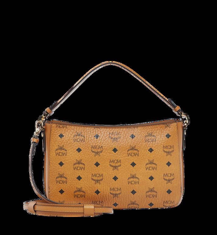 MCM Essential Shoulder Bag in Visetos Original MWS8ASE72CO001 AlternateView4