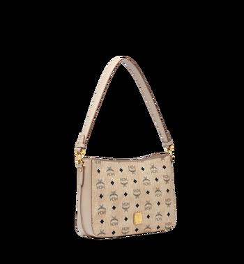 MCM Essential Shoulder Bag in Visetos Original MWS8ASE72IG001 AlternateView2